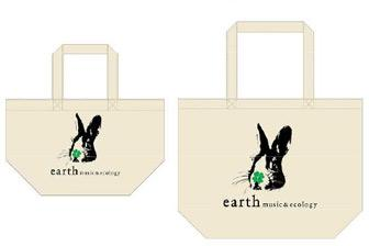 earth music&ecologyチャリティエコバッグ